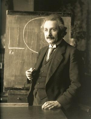 Albert Einstein vuonna 1921. Kuva: Wikimedia Commons. PD.
