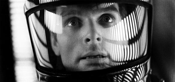 Astronautti Dave kokee elämänsä yllätyksen elokuvassa Avaruusseikkailu 2001. slagheap@Flickr.com. CC BY 2.0.