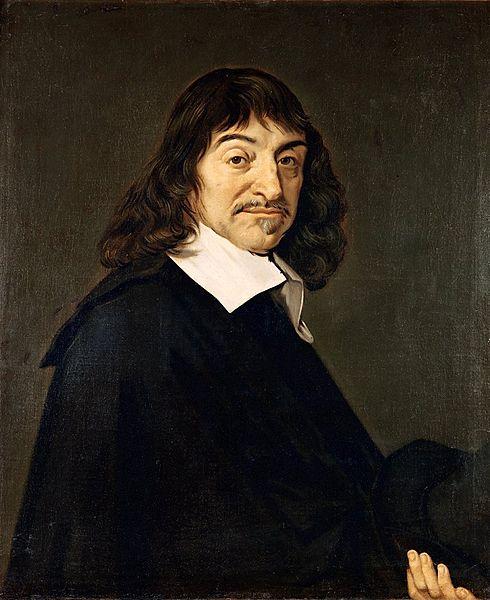 René Descartes Frans Halsin maalaamaana. Kuva: Wikimedia Commons. PD.